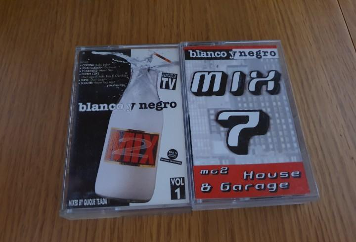 Blanco y negro mix - 2 casetes