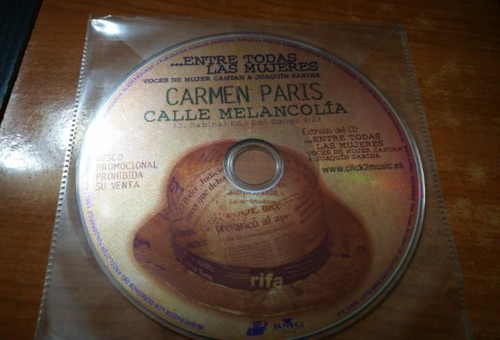 Carmen paris calle melancolia joaquin sabina cd single