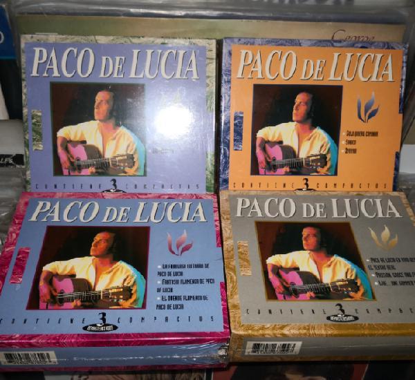 Colección 12 cds paco de lucía, precintados