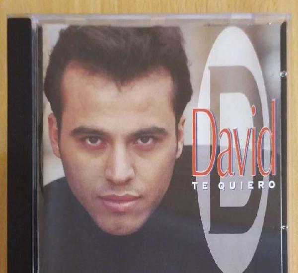 David (te quiero) cd 1997
