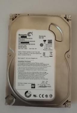 Disco duro 500gb seagate nuevo
