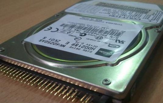 Disco duro portátil ide 2,5 pulgadas