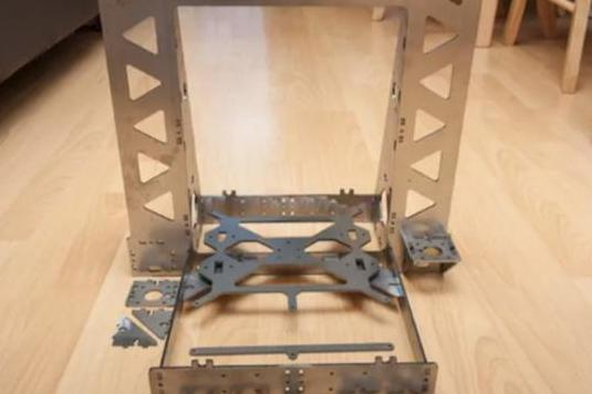 Estructura impresora 3d p3 steel