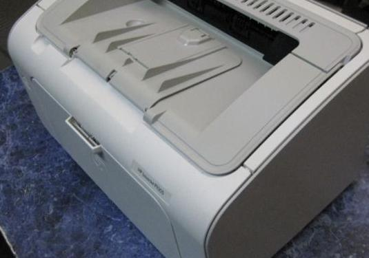Impresora laserjet hp p1005 de toner