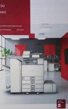Impresora multifuncional ricoh aficio mpc3002