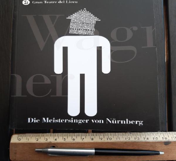 """Libreto ópera, """"die meistersinger von nürnberg"""" de"""