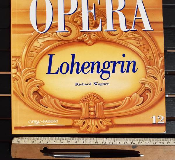 "Libro, ""lohengrin"" de wagner. idioma: castellano"