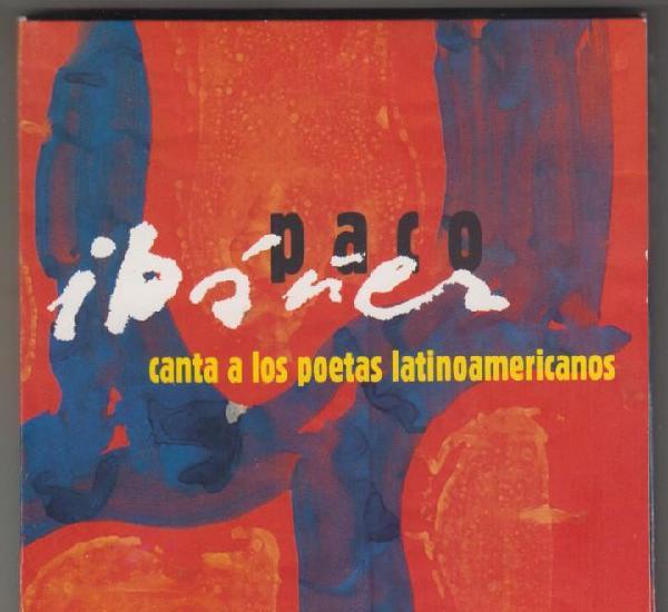 Paco ibáñez canta a los poetas latinoamericanos cd 2012