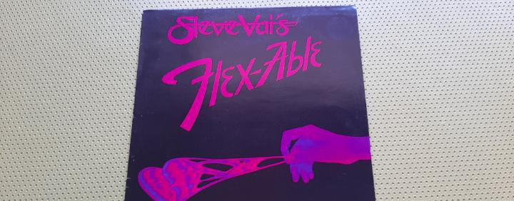 Steve vai -flex-able- (1984) lp disco vinilo