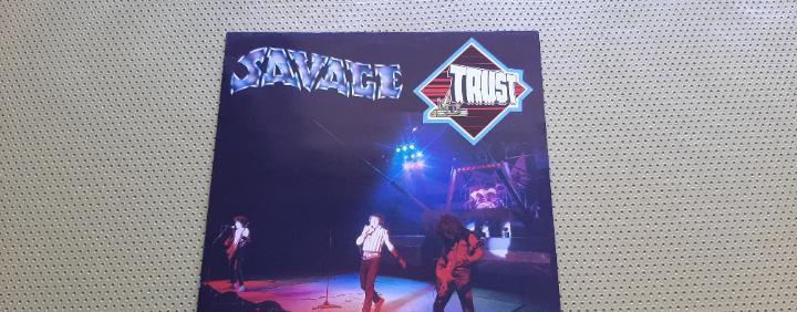 Trust -savage- (1982) lp disco vinilo