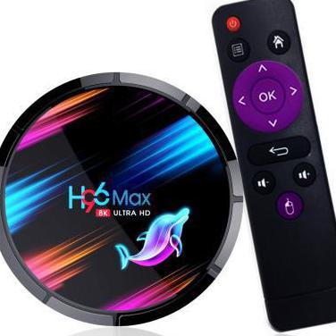 Tv box h96 max x3 4gb ram android 9