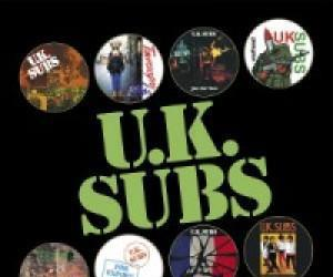 U.k. subs (uk subs) - the gem singles (picture di... - 7