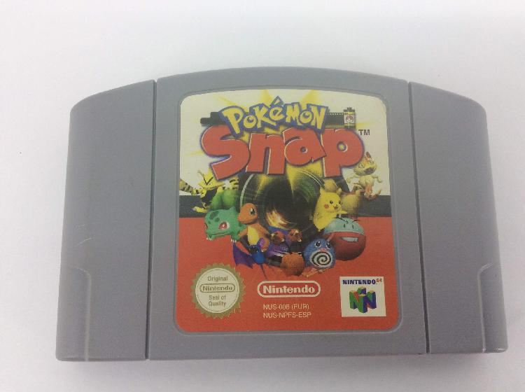 coleccionismo vintage nintendo pokemon snap 64