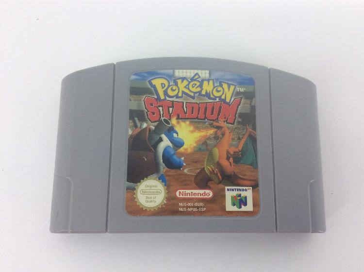 coleccionismo vintage nintendo pokemon stadium 64