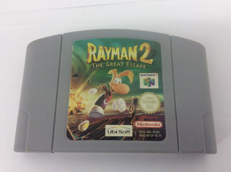 Coleccionismo vintage nintendo rayman 2 64