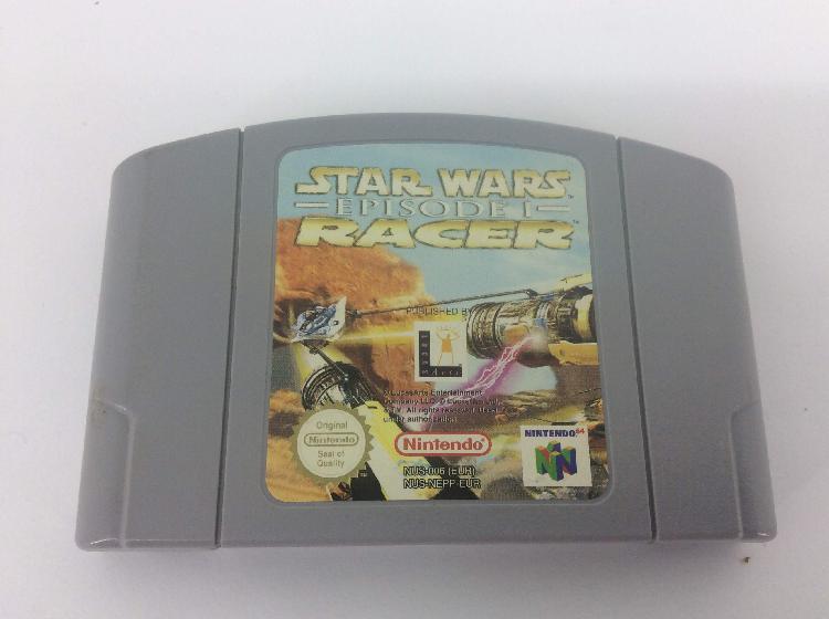 coleccionismo vintage nintendo star wars racer episode i