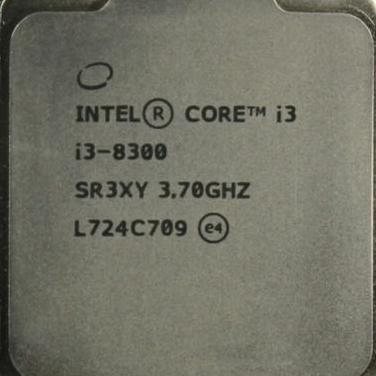 Procesador intel i3 8300