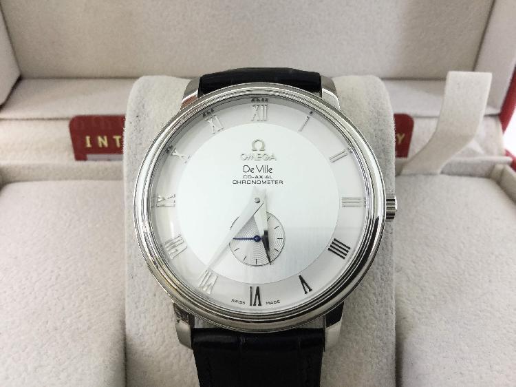 Reloj alta gama unisex omega de ville co-axial chronometer