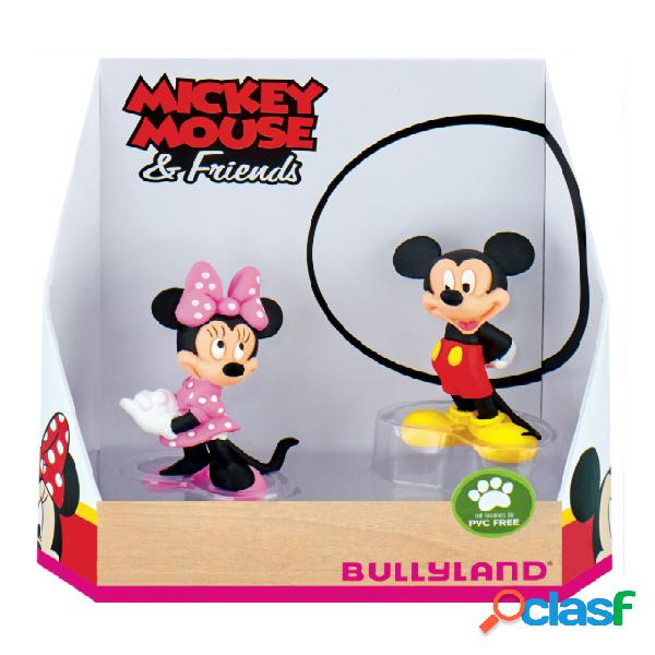 Pack figuras minnie y mickey mouse