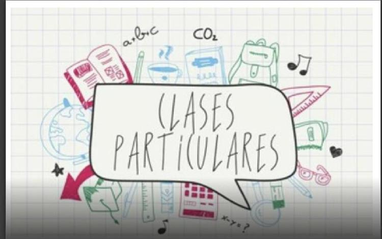 Clases particulares - profesor particular.