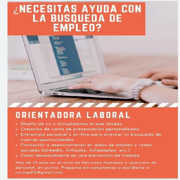 Elaboración de currículum - búsqueda de empleo