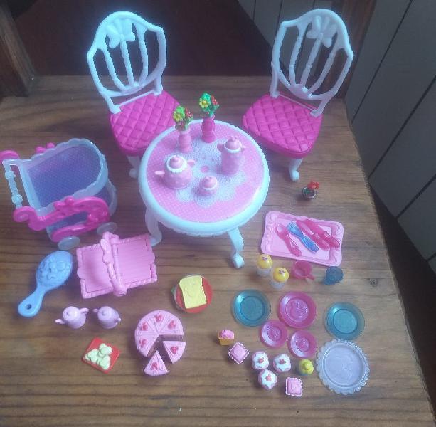 Lote accesorios muñeca i love minnie