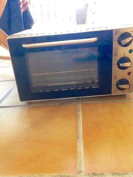 Mini horno como nuevo poquísimo uso