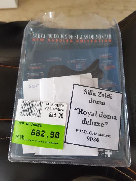 Montura inglesa zaldi royal doma deluxe