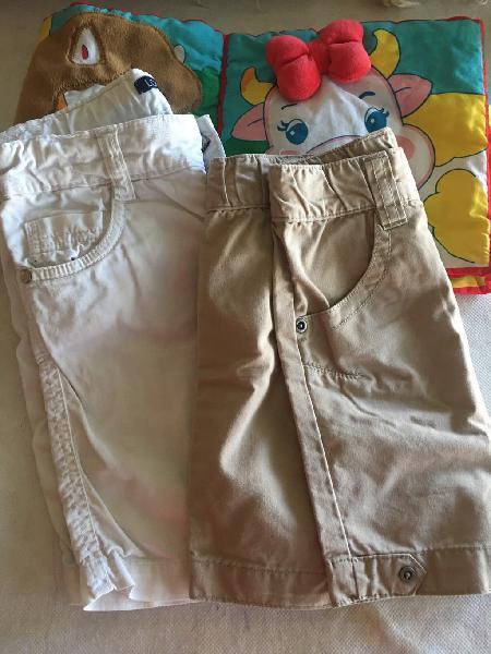 Pantalones cortos niños t 24 m