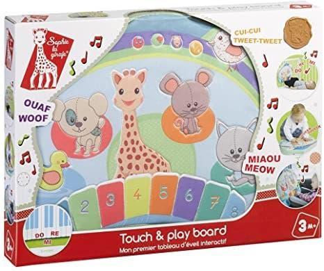 Tablero touch & play board - sophie la girafe