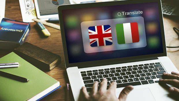 Traductor italiano-español.