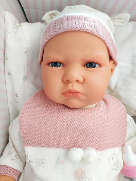 Bebe tipo reborn antonio juan 50cm