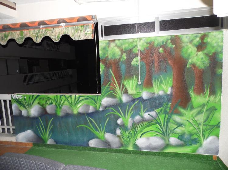 Graffitero graffiti murales profesional decoracion