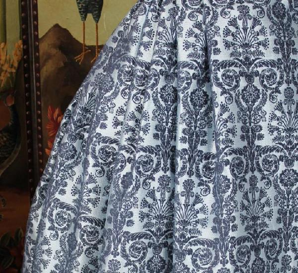 Corte de falda brocada