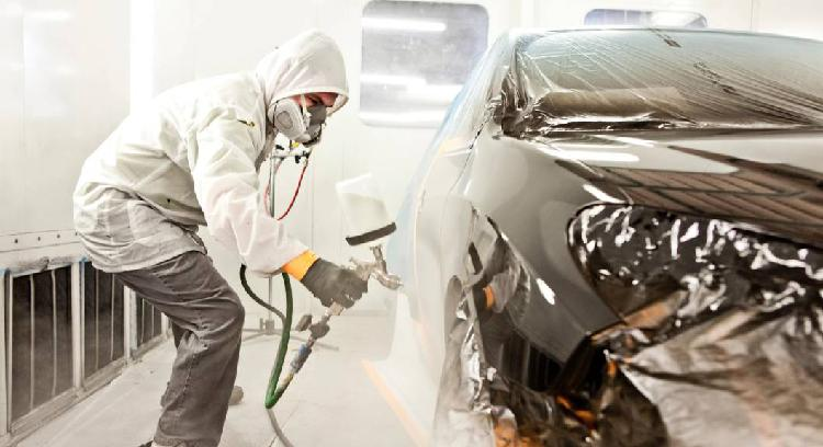 Chapista/pintor de vehículos