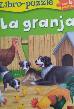 """Cuento puzzle """"la granja"""". 3 años"""