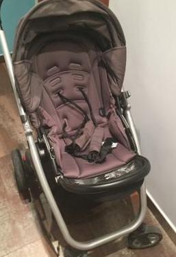 Chipolino nuevo Twin Duo Smart Cesta plegable de Birth beige beige cochecito de hermano