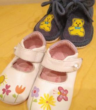 Lote t.19-20 sandalias niña zapatillas