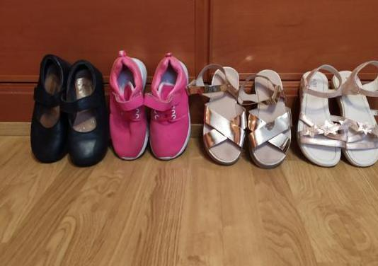 Lote de zapatos y zapatillas niña talla 33