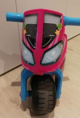 Moto molto cross race rosa