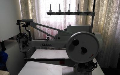 Máquina de coser claes zapatero