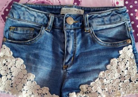 Pantalón corto niña. 6 años