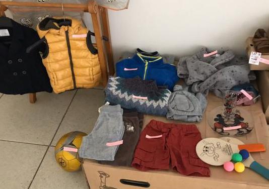 Ropa y calzado nuevos y usados de niño