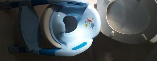 Reductor inodoro, adaptador para wc.