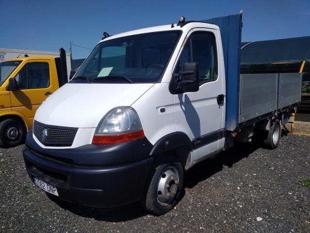 Renault trucks master 120 dci caja abierta.
