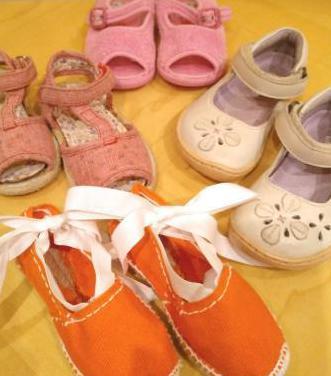 Sandalias t. 21 niña alpargatas zapatillas