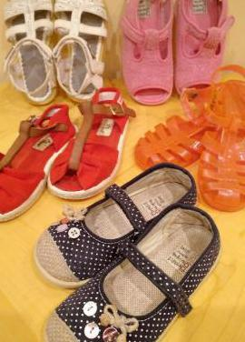 Sandalias t.26 niña chanclas zapatillas