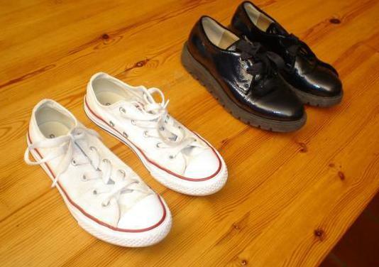 Zapatos de niño, tallas 33-34