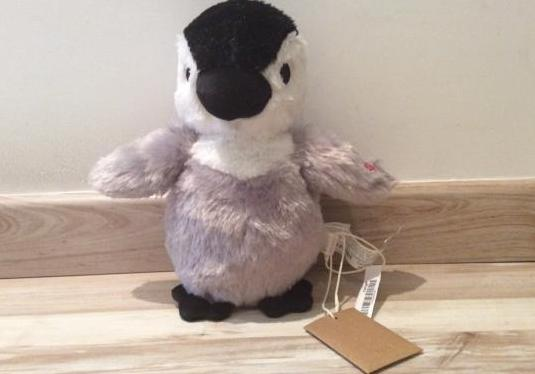 Zara home con etiqueta pingüino musical yym