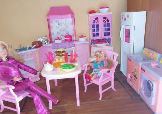 Cocina barbie años 90